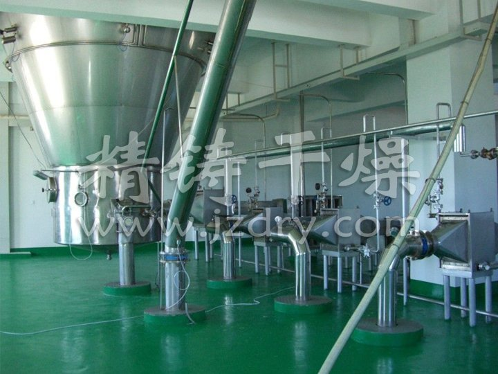 Plasma hemoglobin powder drying project